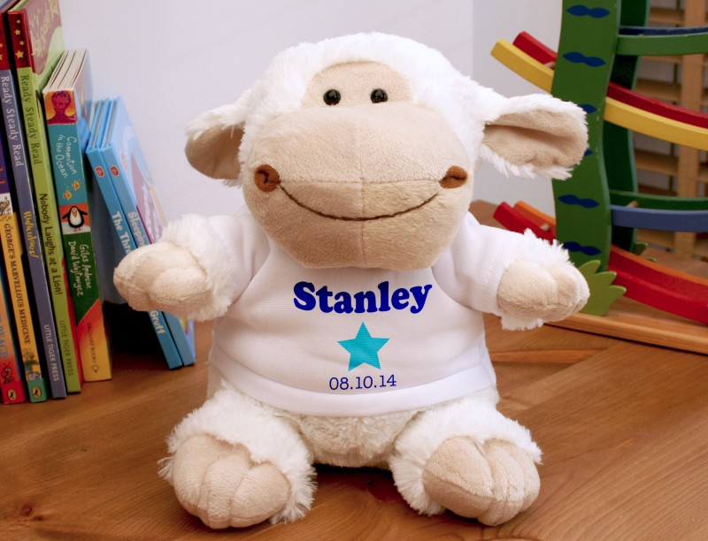 Personalised Soft Toy / Lamb
