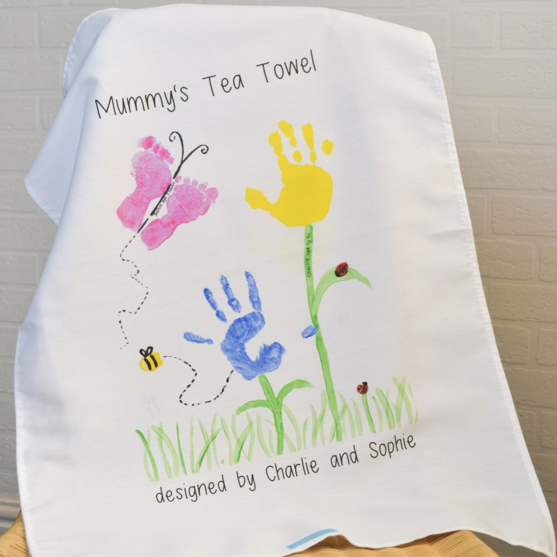 Personalised Cotton Teatowel