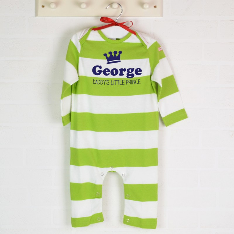 Personalised Organic Babygro