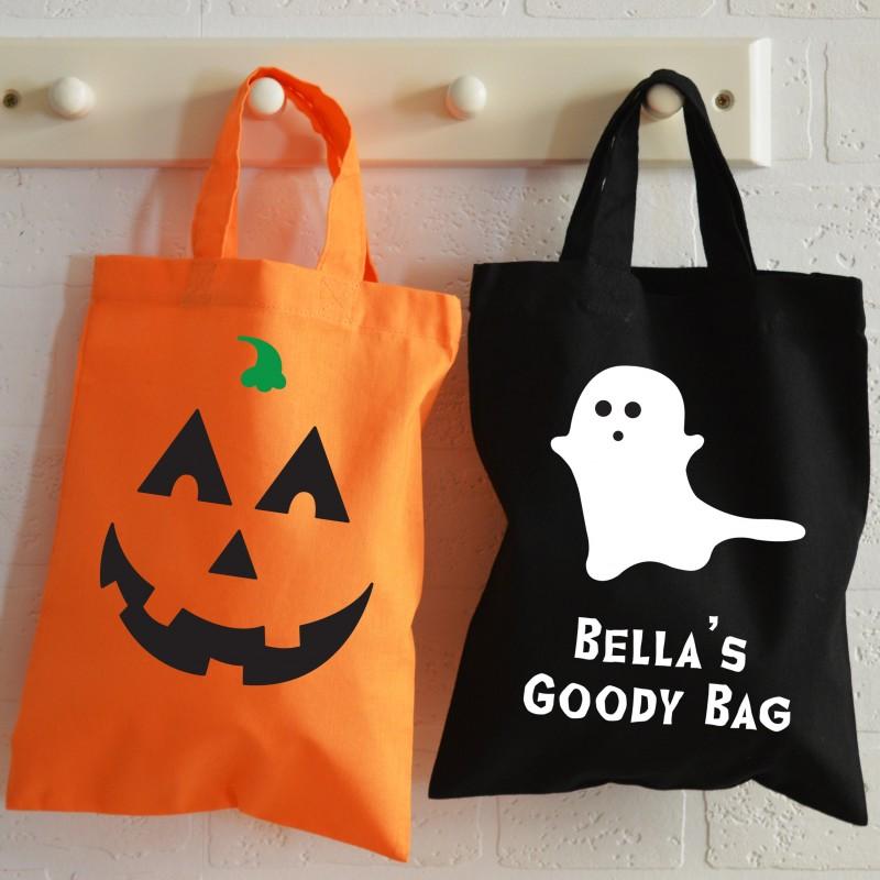 Personalised Halloween Bags