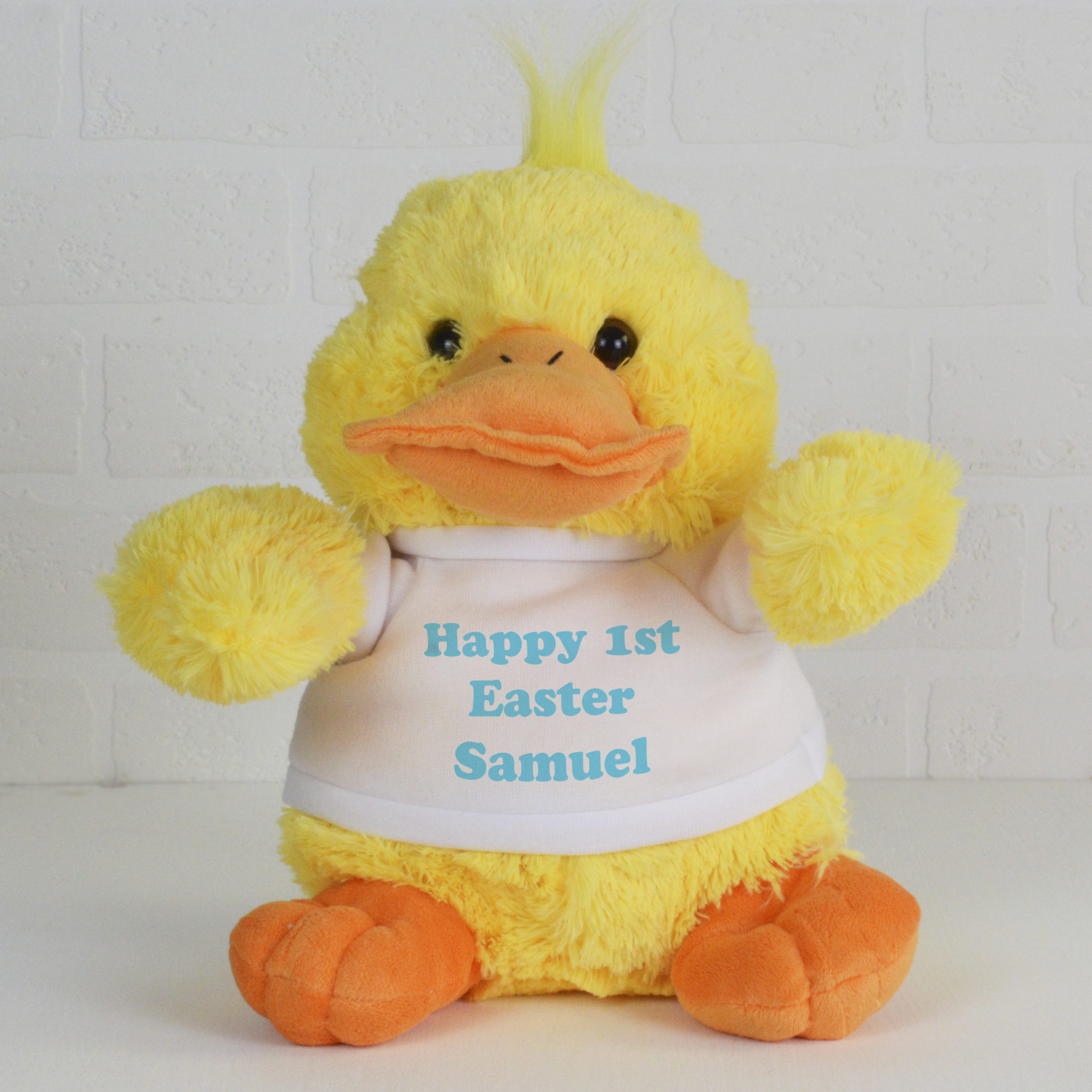 Personalised Soft Toy Easter Gift