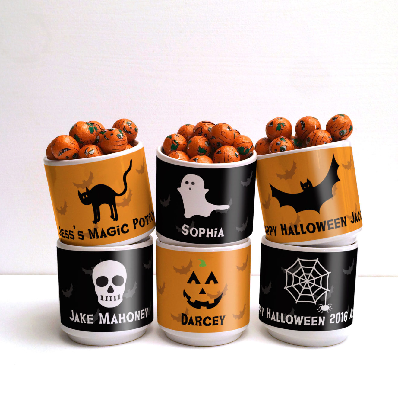 personalised halloween party gift