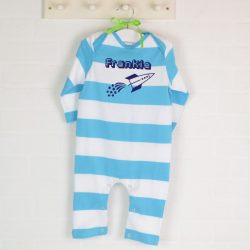 Personalised Rocket Romper