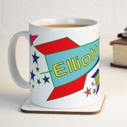 Personalised Rocket Mug