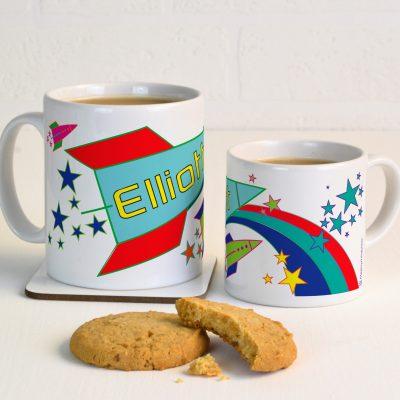 Personalised Rocket Mug