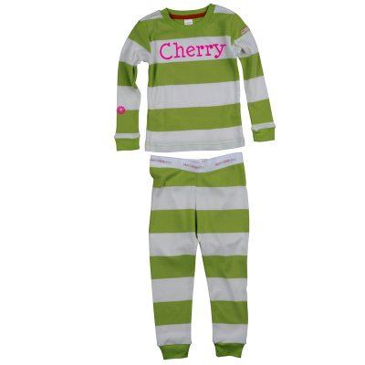 personalised girls pyjamas
