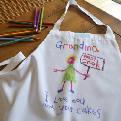 Child's Artwork Apron 2