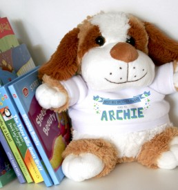 Personalised Soft Toy / Puppy