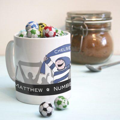 Personalised Football Mug 2