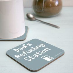 Personalised Fuel Coaster 1