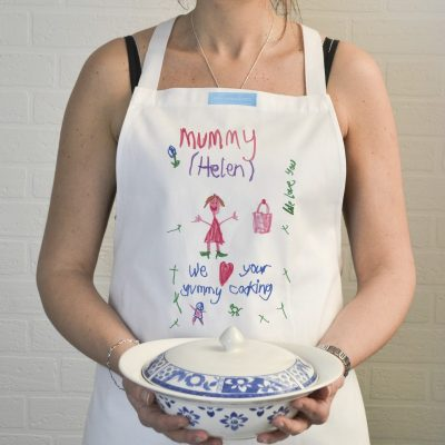 Childs Artwork Personalised Apron