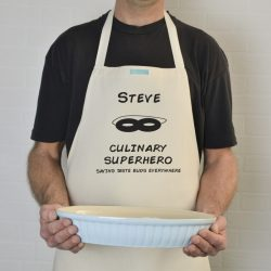 Personalised Superhero Apron
