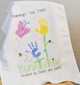 Personalised Cotton Teatowel