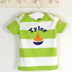 Personalised Organic Cotton Tshirt