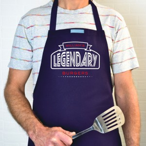 Personalised legendary apron