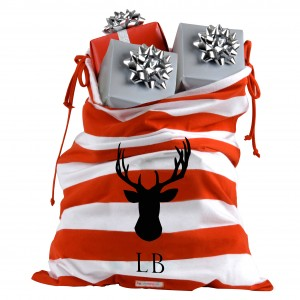 Stag Head Santa Sack 2