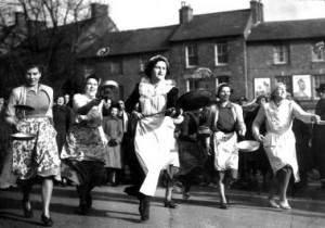 Olney Pancake Race Day