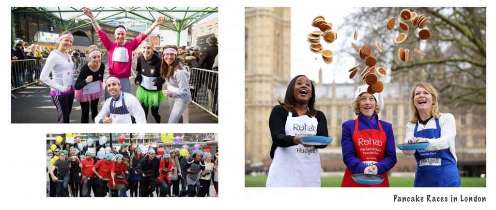 Pancake Races in London