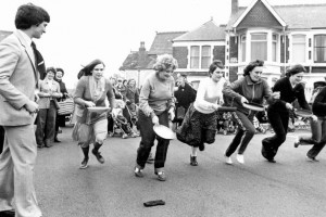 Pentre Pancake Day Race