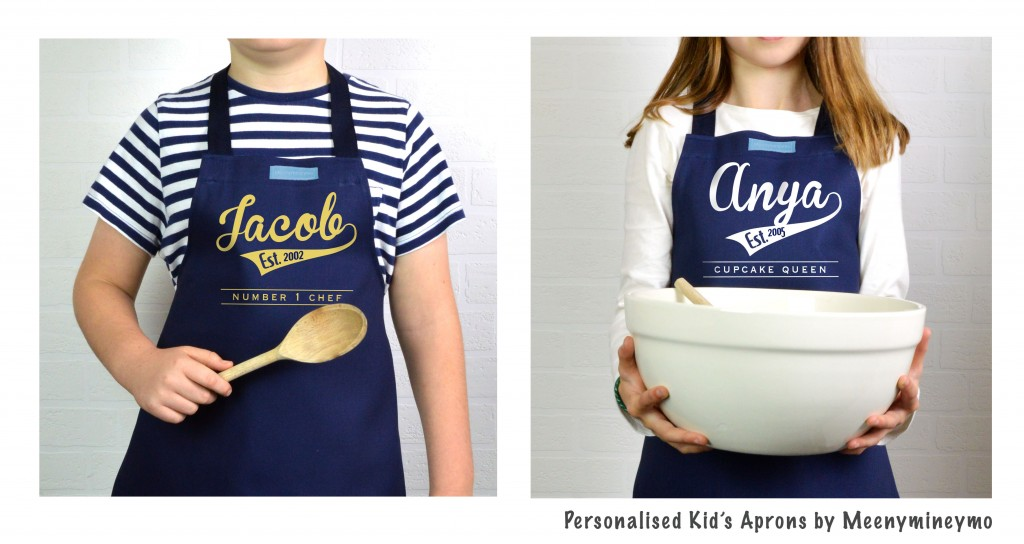 Personalised Kid's Aprons for Pancake Day