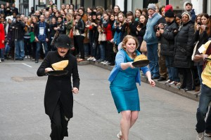 Great Spitalfields Pancake Race