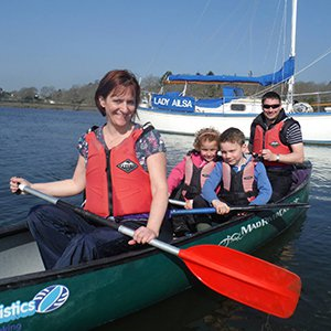 New Forest Canoeing Easter Egg Hunt