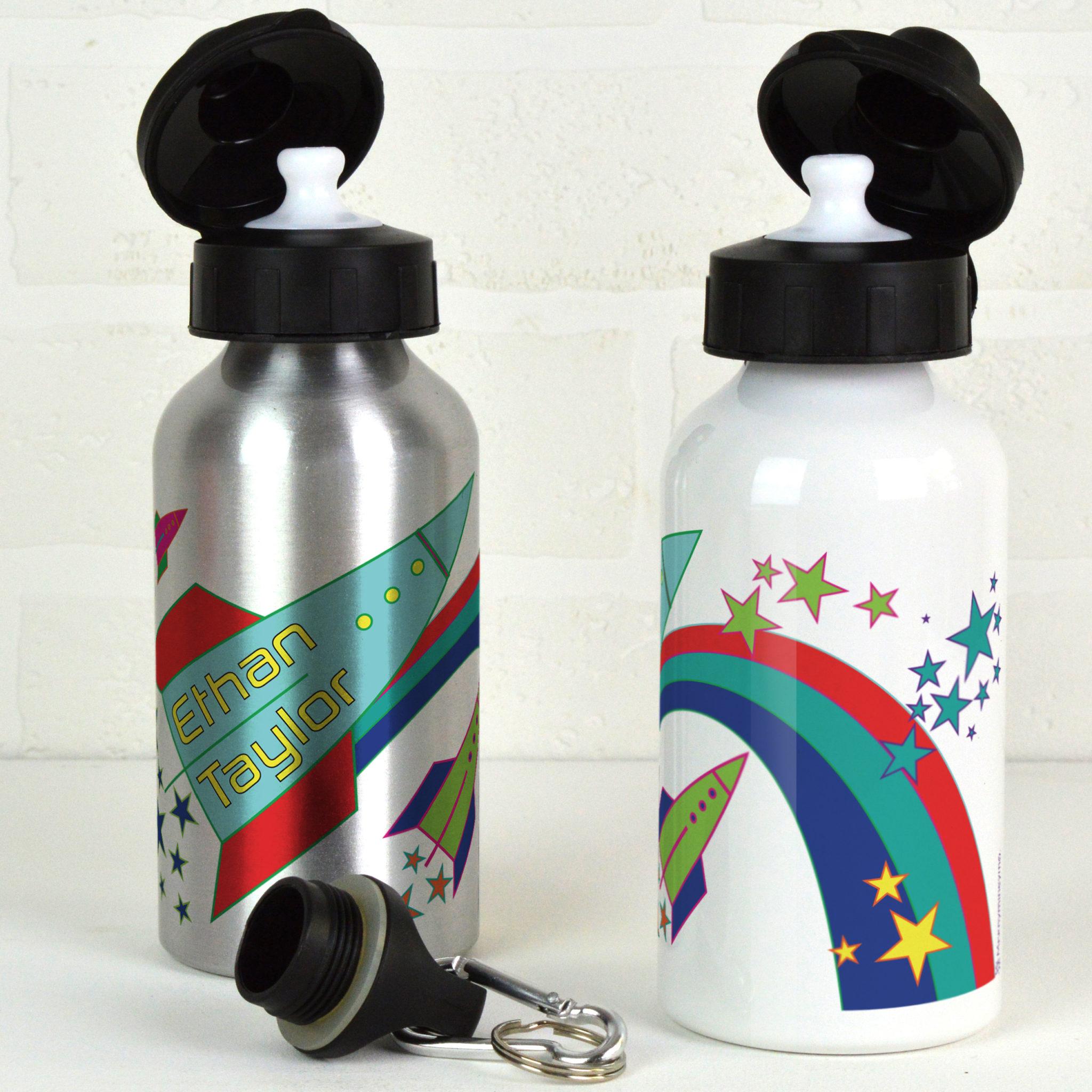 1 Liter Bottle Water Rocket: Personalised Water Bottle / Rockets Or Elephants
